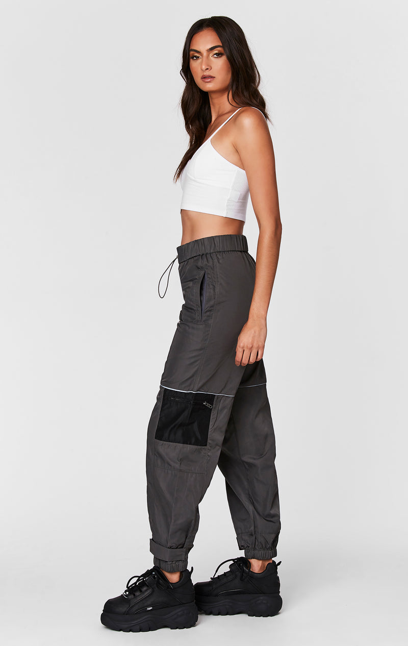 WINDBREAKER TRACK PANT SIDE