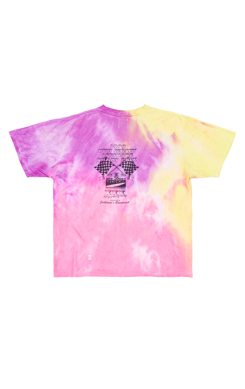 FURST OF A KIND TIE DYE GRAPHIC TEE BACK