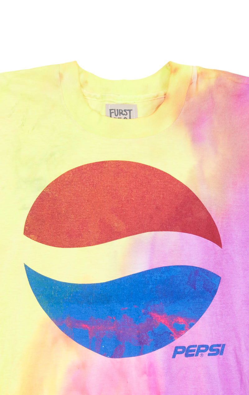 FURST OF A KIND TIE DYE GRAPHIC TEE DETAIL