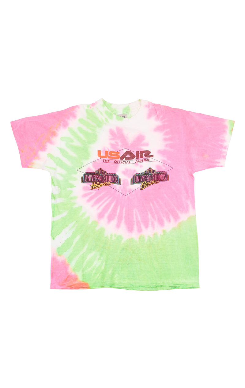 FURST OF A KIND SPIRAL TIE DYE TEE FRONT