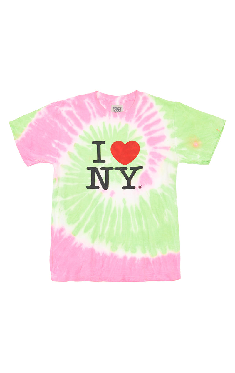 FURST OF A KIND SPIRAL TIE DYE TEE