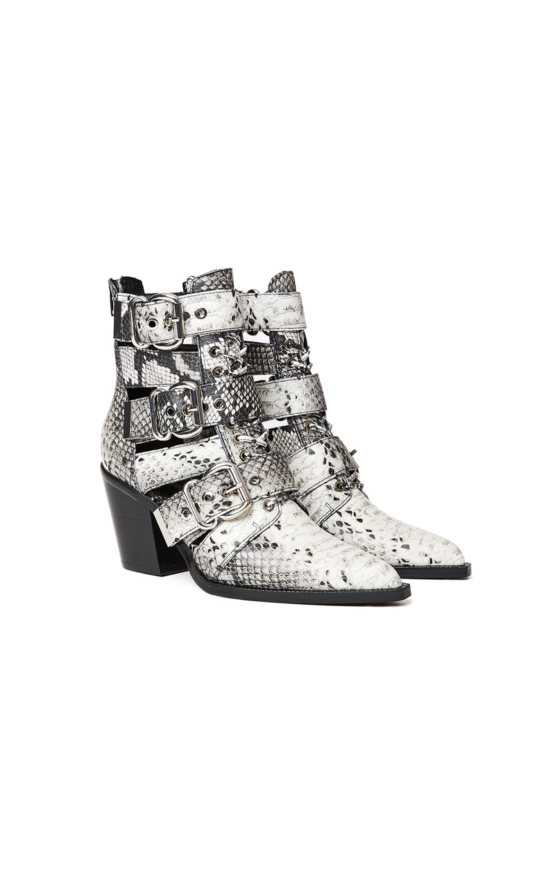 CACERES SNAKE BOOTIE