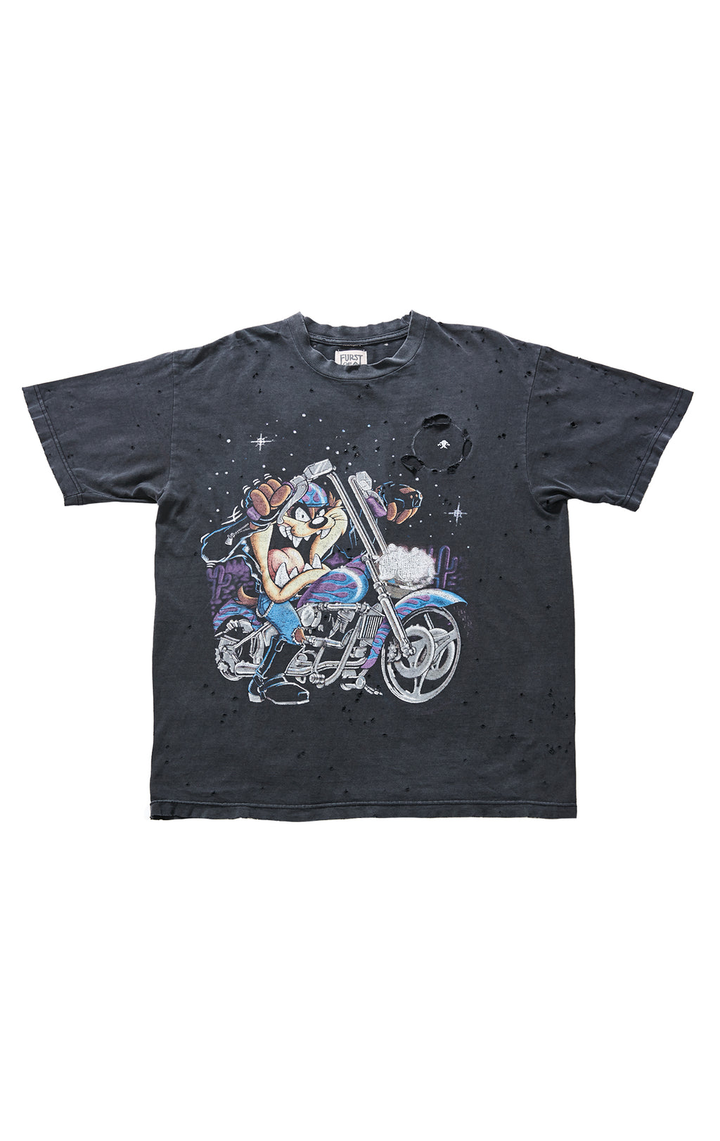 CARTOON STONEWASHED TEE FRONT