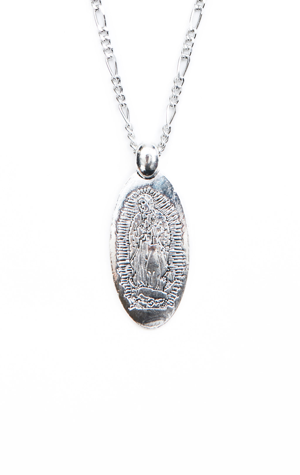 SHRAKE LADY GUADALUPE NECKLACE - ZOOM