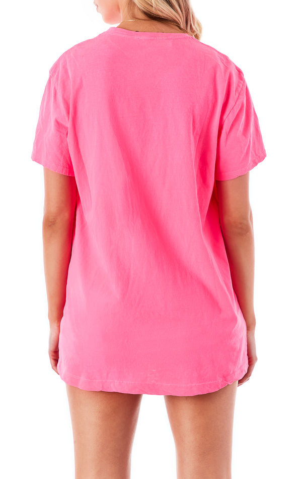RECYCLED COTTON OVERSIZED T-SHIRT