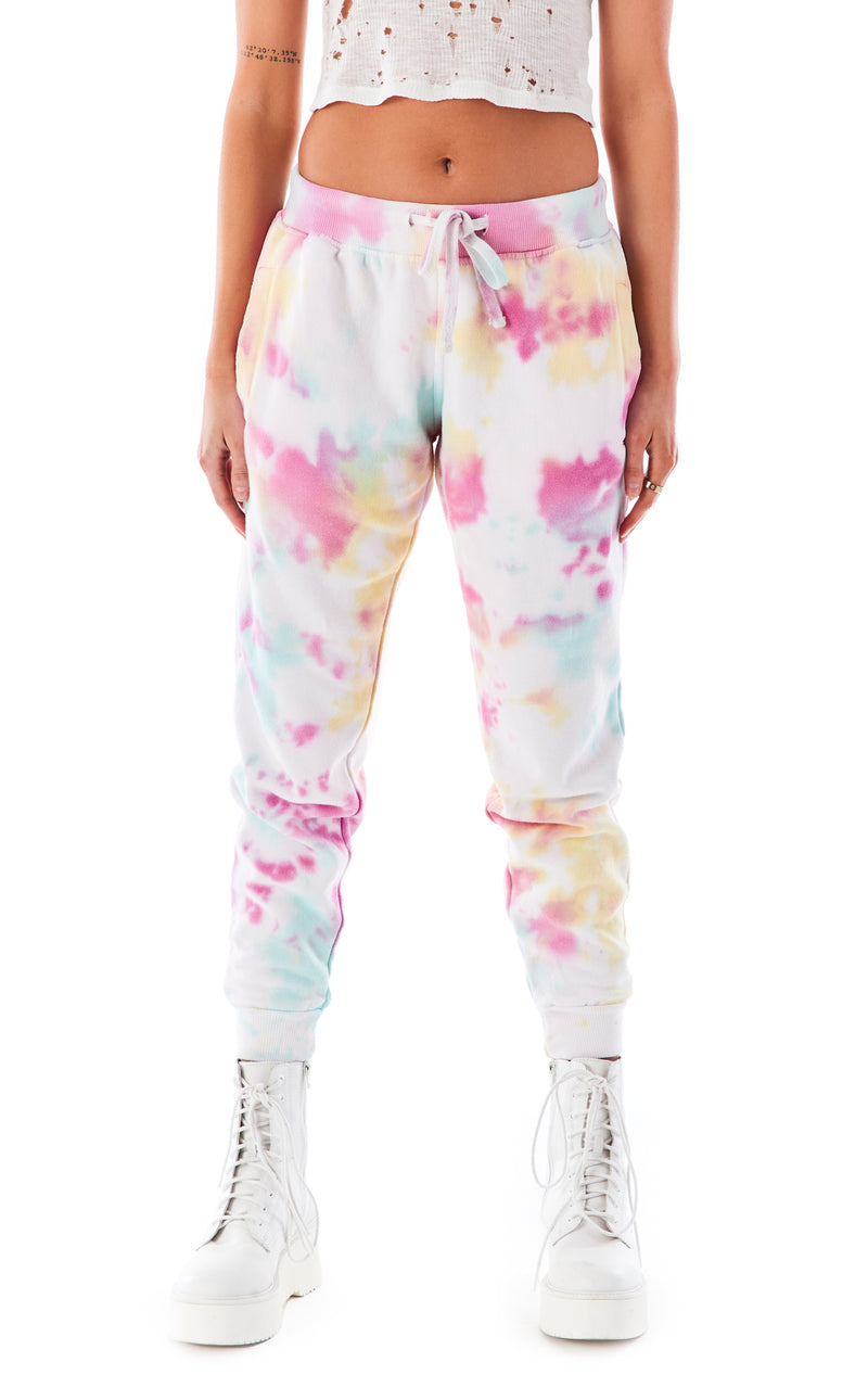 CLOUD TIE DYE SWEATPANTS