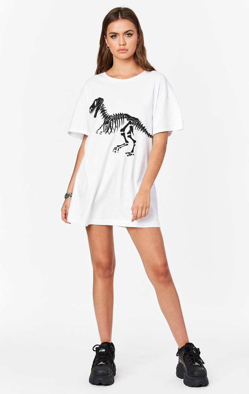 DINOSAUR OVERSIZED GRAPHIC TEE