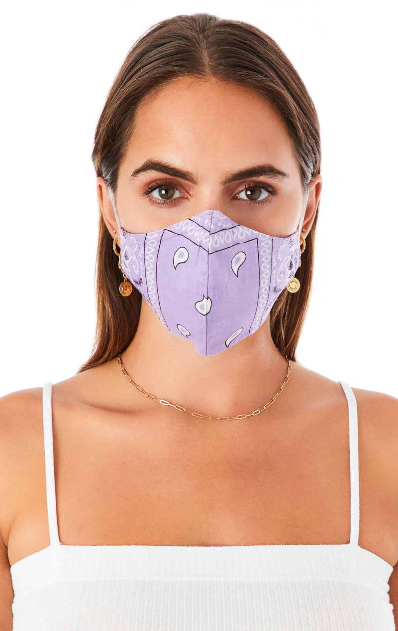 ASSORTED BANDANA FACE MASKS