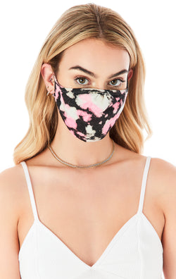 CLOUD TIE DYE FACE MASK