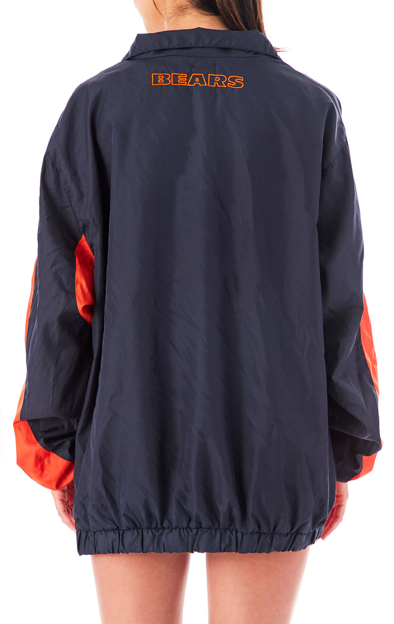 VINTAGE SPORTS PULLOVER WINDBREAKER