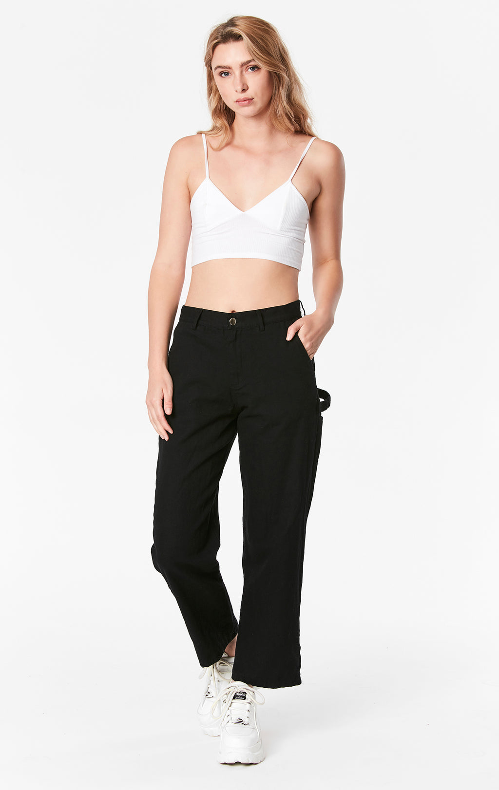 WIDE LEG CARPENTER PANT
