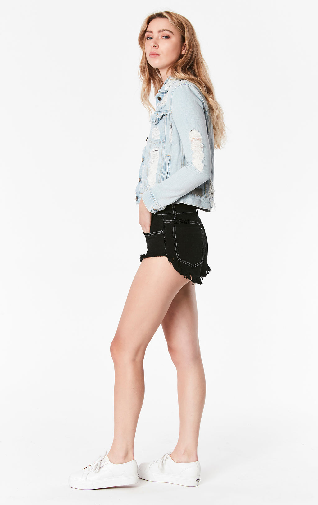 CARINA ROMEO DENIM JACKET