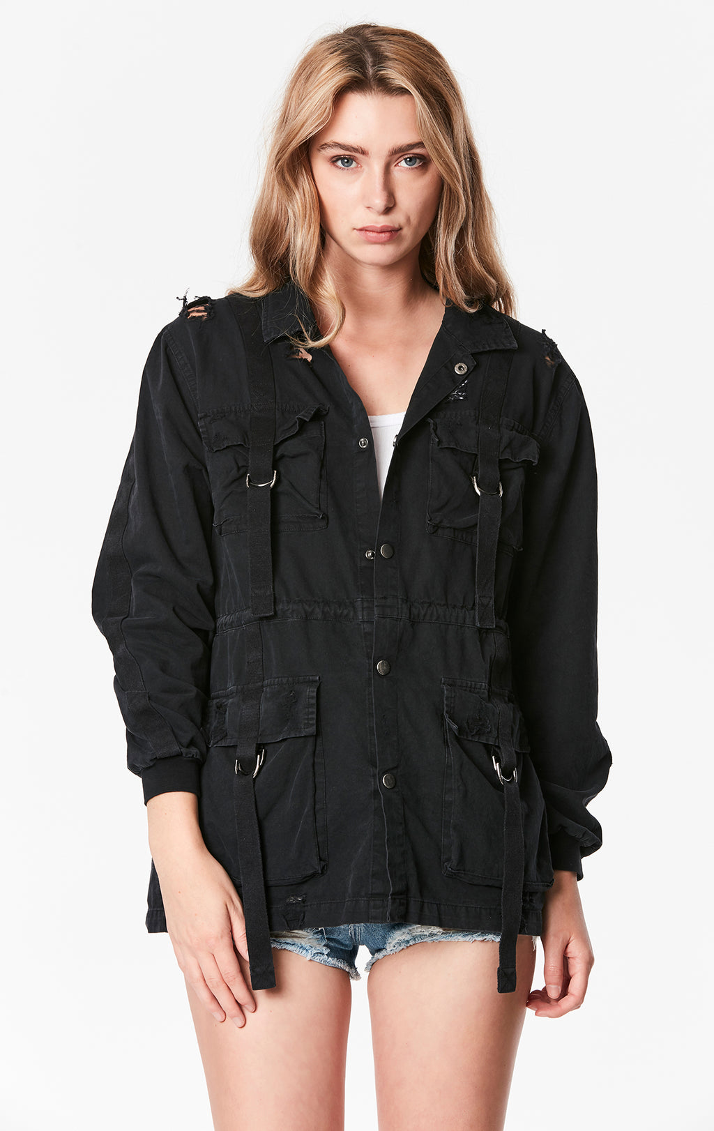 CARGO POCKET WORK JACKET