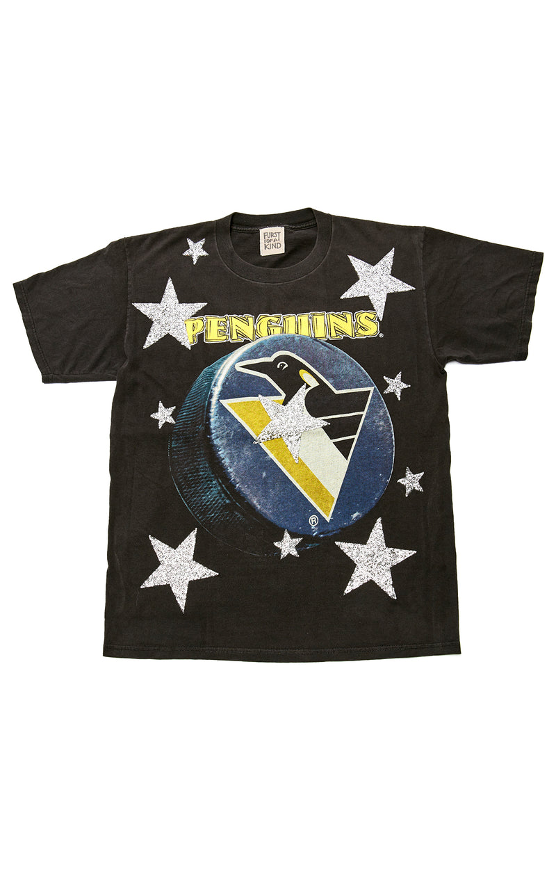 VINTAGE ALLOVER STAR PATCH T-SHIRT