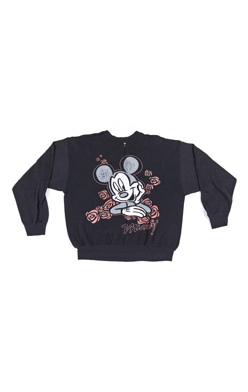 STONEWASHED CARTOON SWEATSHIRT