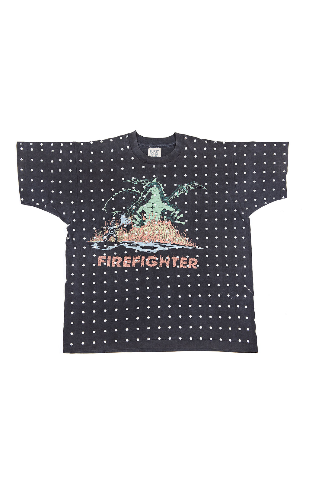 ALL OVER RHINESTONE TEE