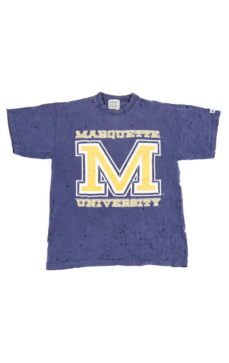 STONEWASHED COLLEGE TEE