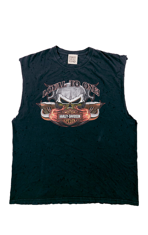 STONEWASHED HARLEY TANK TOP