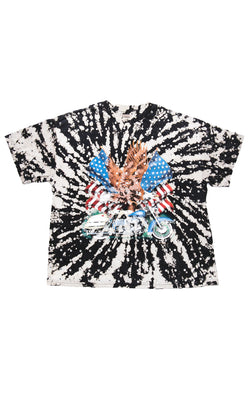 VINTAGE BLEACHED ALLOVER RHINESTONE T-SHIRT