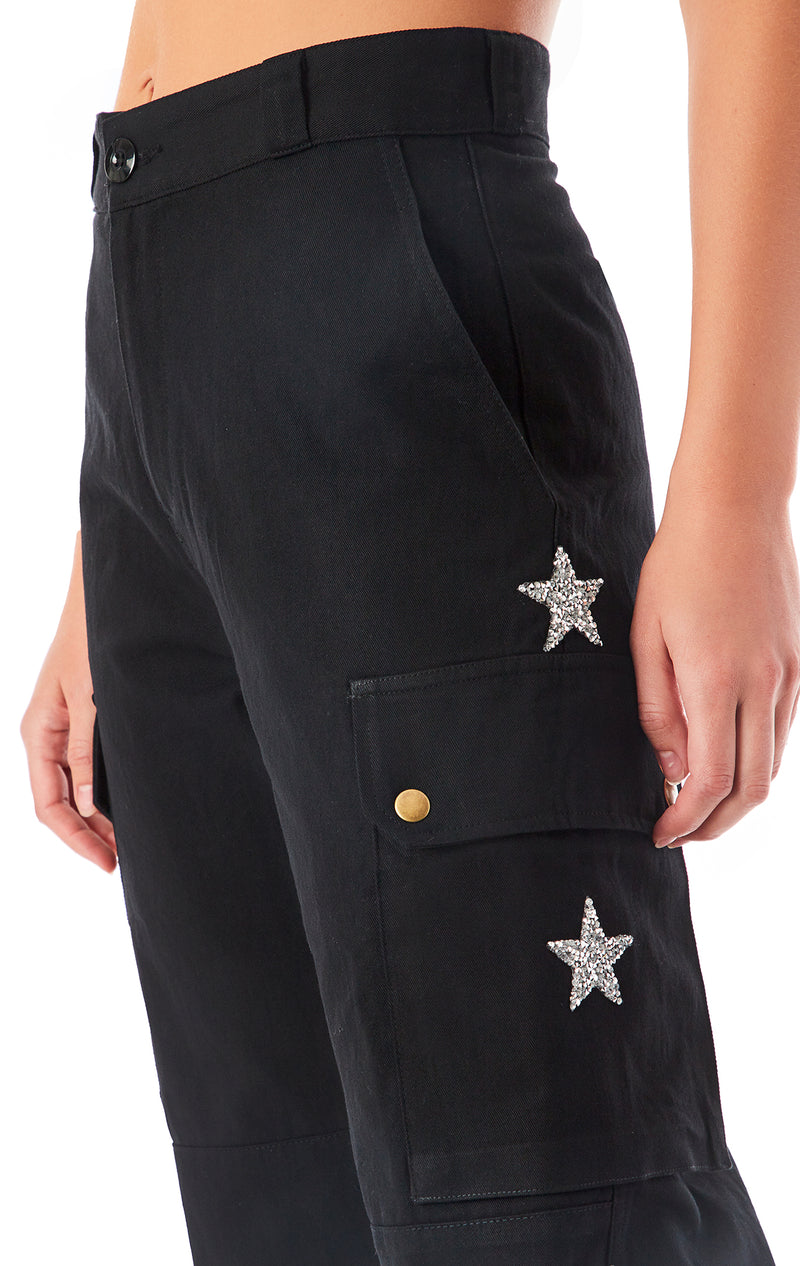 STAR PATCH CARGO PANT