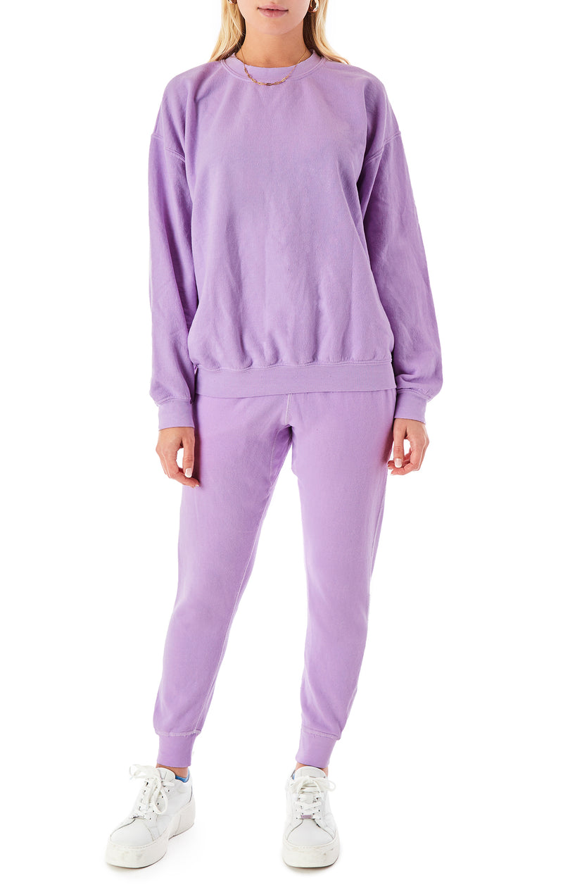 LILAC SWEATPANTS