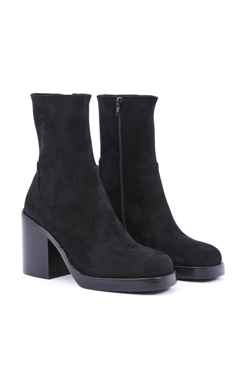 MAXEN-2 SUEDE PLATFORM ANKLE BOOT