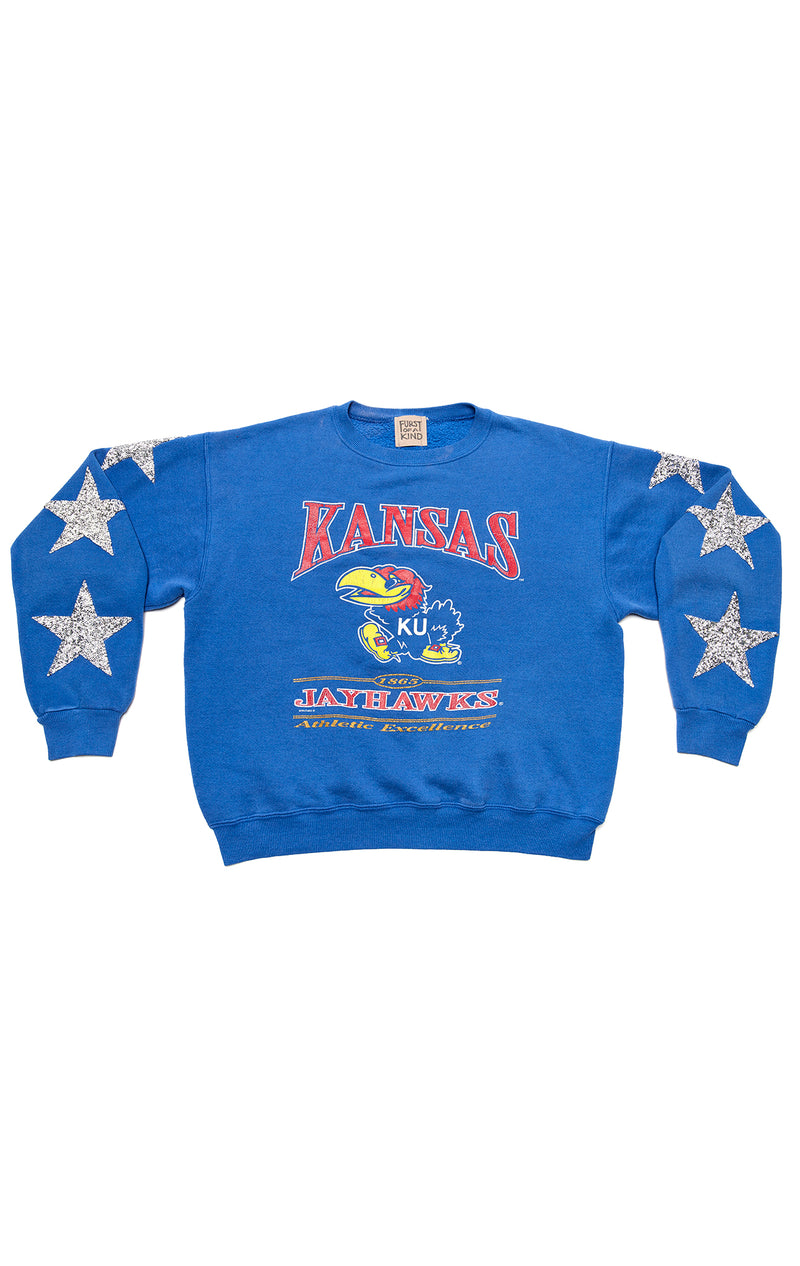 VINTAGE STAR PATCH SWEATSHIRT