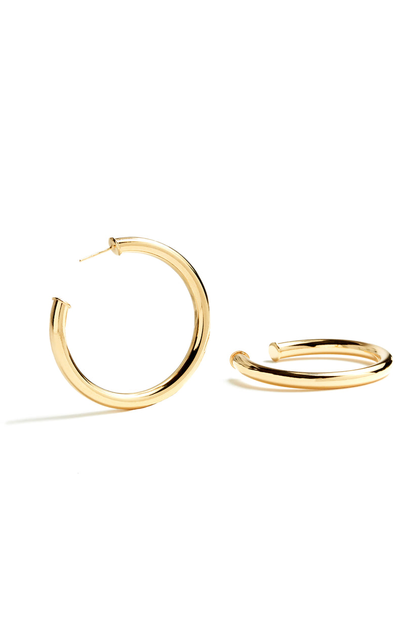 GOLD FILLED TUBE HOOPS