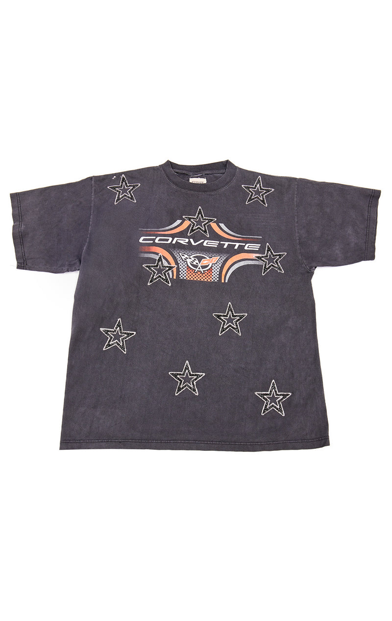 VINTAGE BLACK STAR PATCH T-SHIRT