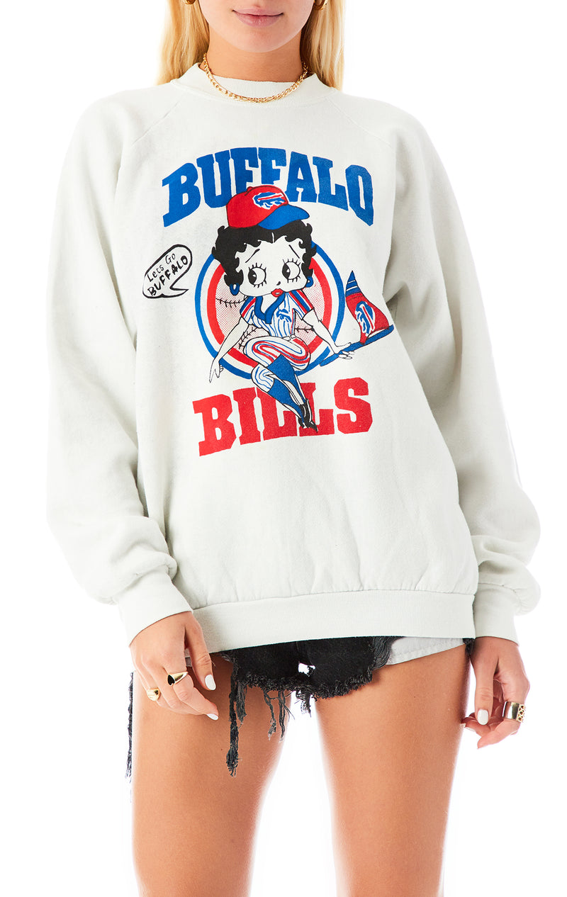 VINTAGE CARTOON NFL SWEATSHIRT