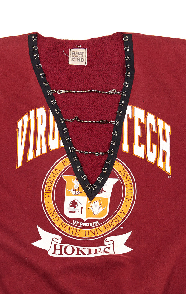 VINTAGE CHAIN LADDER COLLEGE SWEATSHIRT