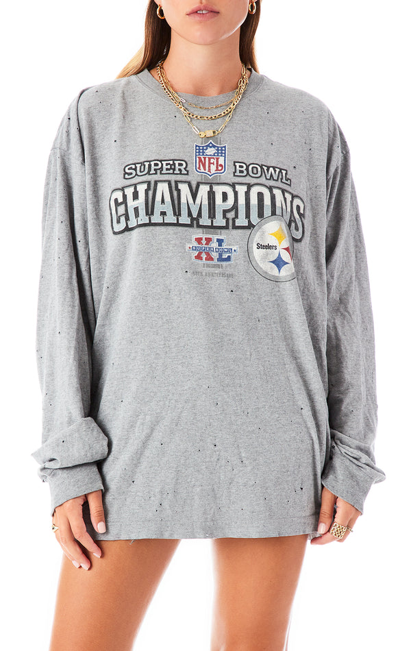 VINTAGE LONG SLEEVE NFL T-SHIRT