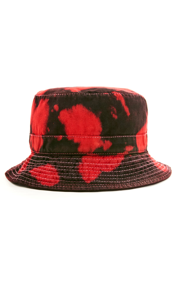 BLOTCH DYE BUCKET HAT