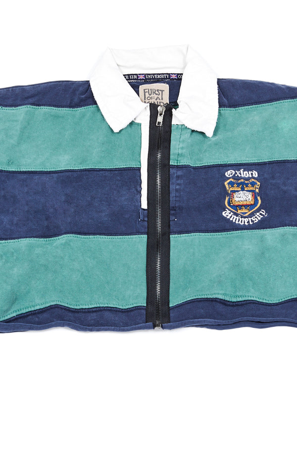 VINTAGE ZIP FRONT RUGBY SHIRT
