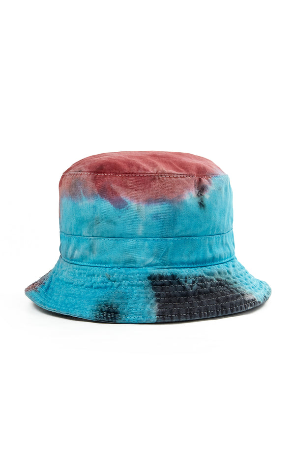 CLOUD TIE DYE BUCKET HAT