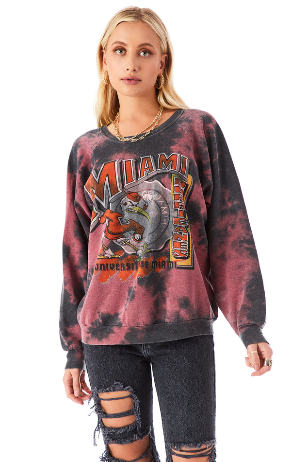 VINTAGE CLOUD TIE DYE SWEATSHIRT