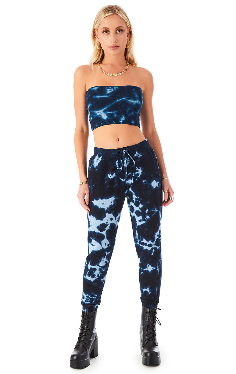 WATERMARK TIE DYE SWEATPANTS