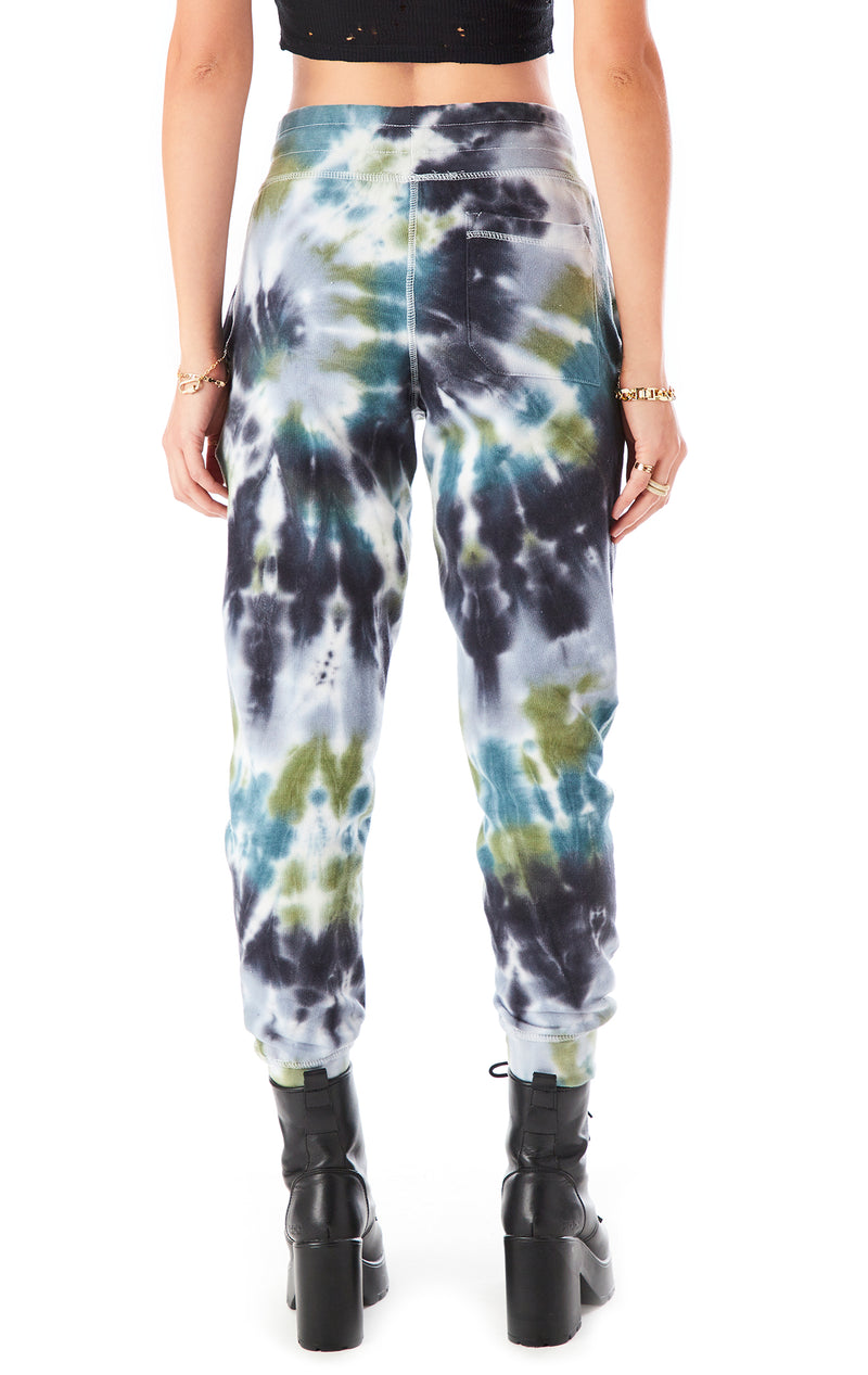 HURRICANE TIE DYE SWEATPANTS