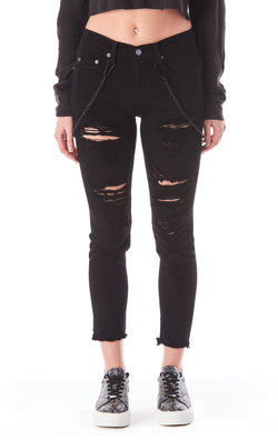 MIA DOUBLE CHAIN JEAN