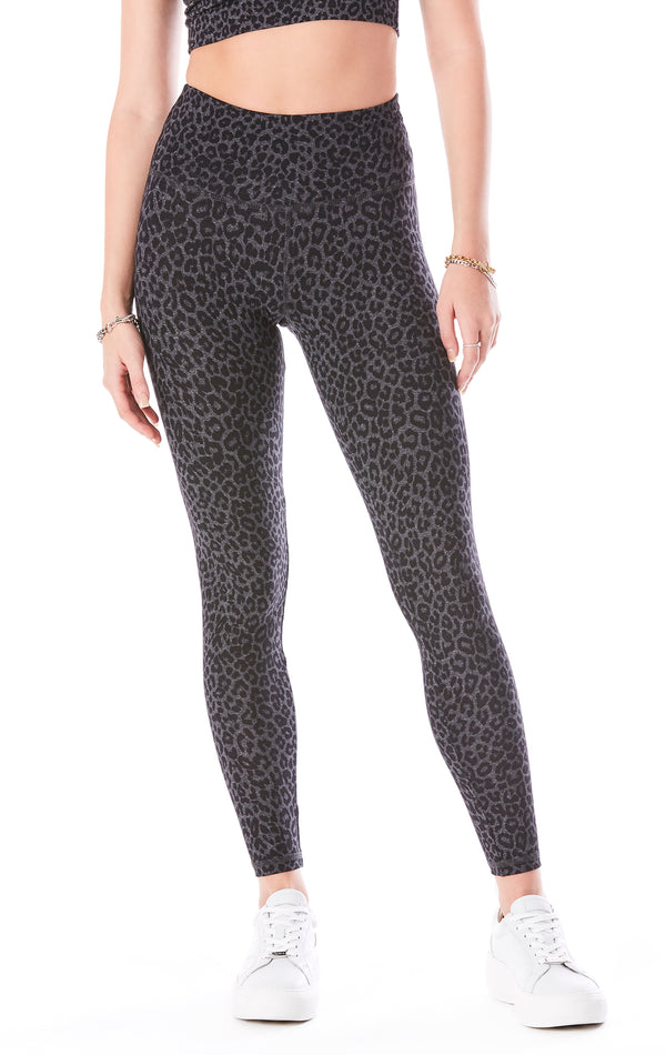TEAGAN GREY LEOPARD LEGGINGS