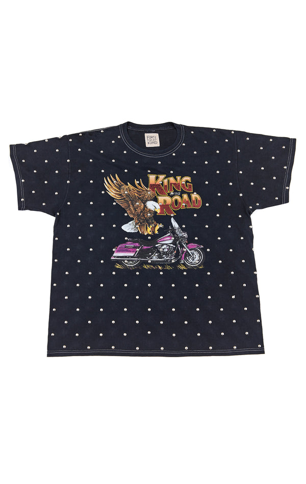 ALLOVER STUD VINTAGE T-SHIRT