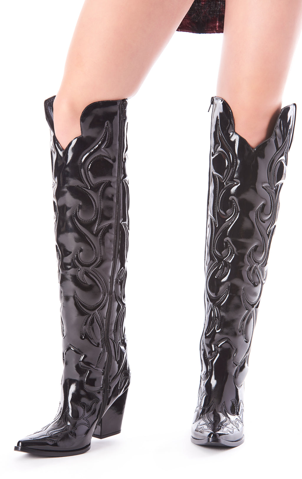 AMIGOS OVER THE KNEE WESTERN BOOT