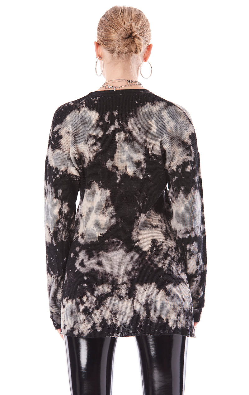 TIE DYE OVERSIZED THERMAL