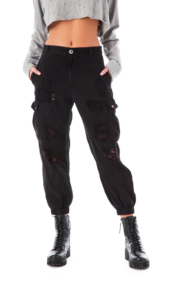 GRINDED CARGO PANT