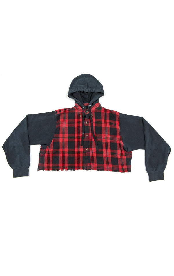 VINTAGE HOODED FLANNEL