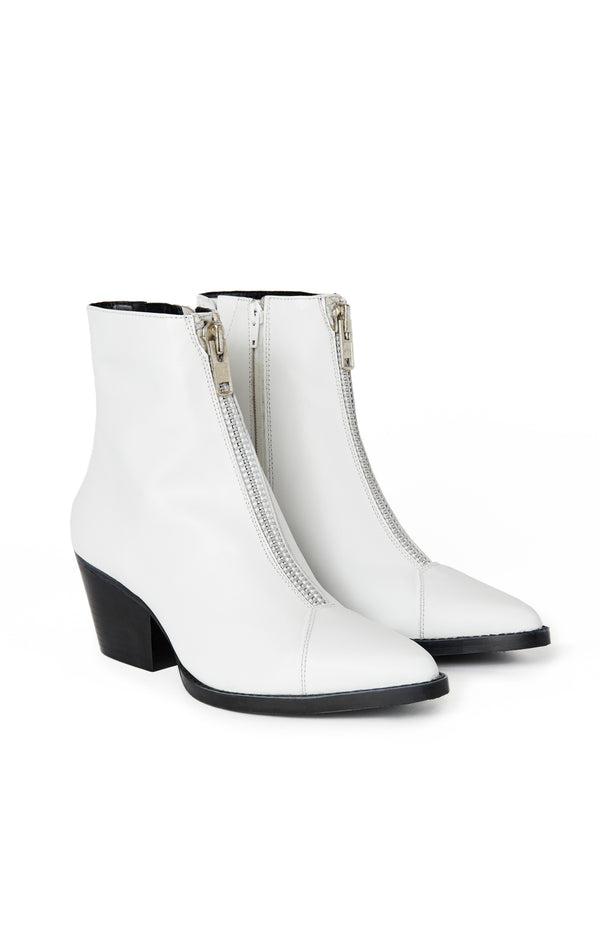 LANDYN WESTERN INSPIRED BOOTIE WITH FRONT ZIP