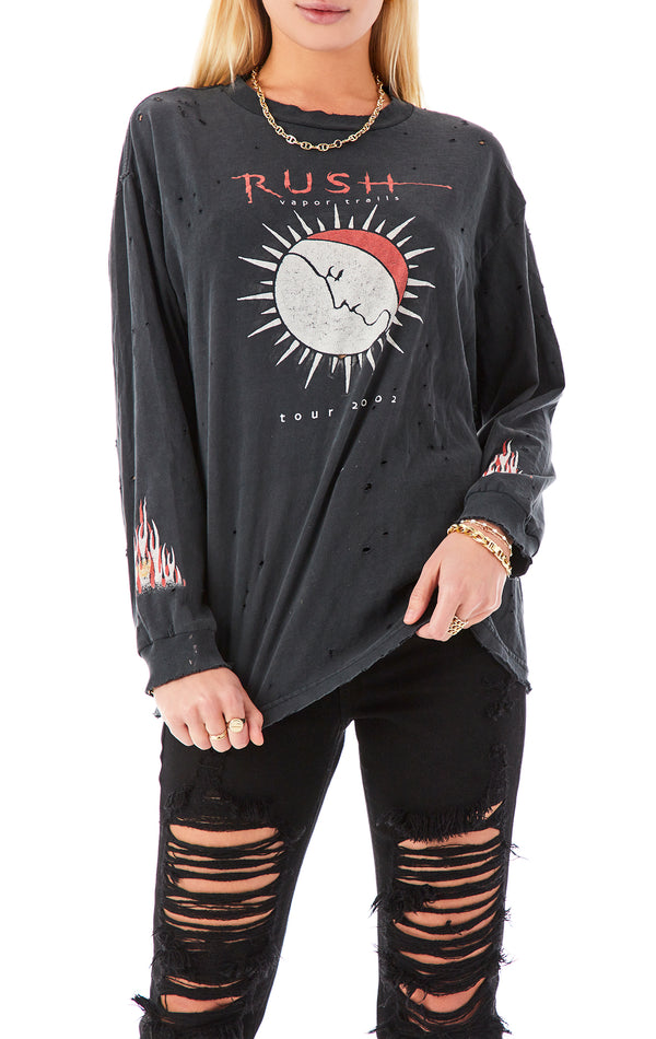 VINTAGE LONG SLEEVE MUSIC T-SHIRT