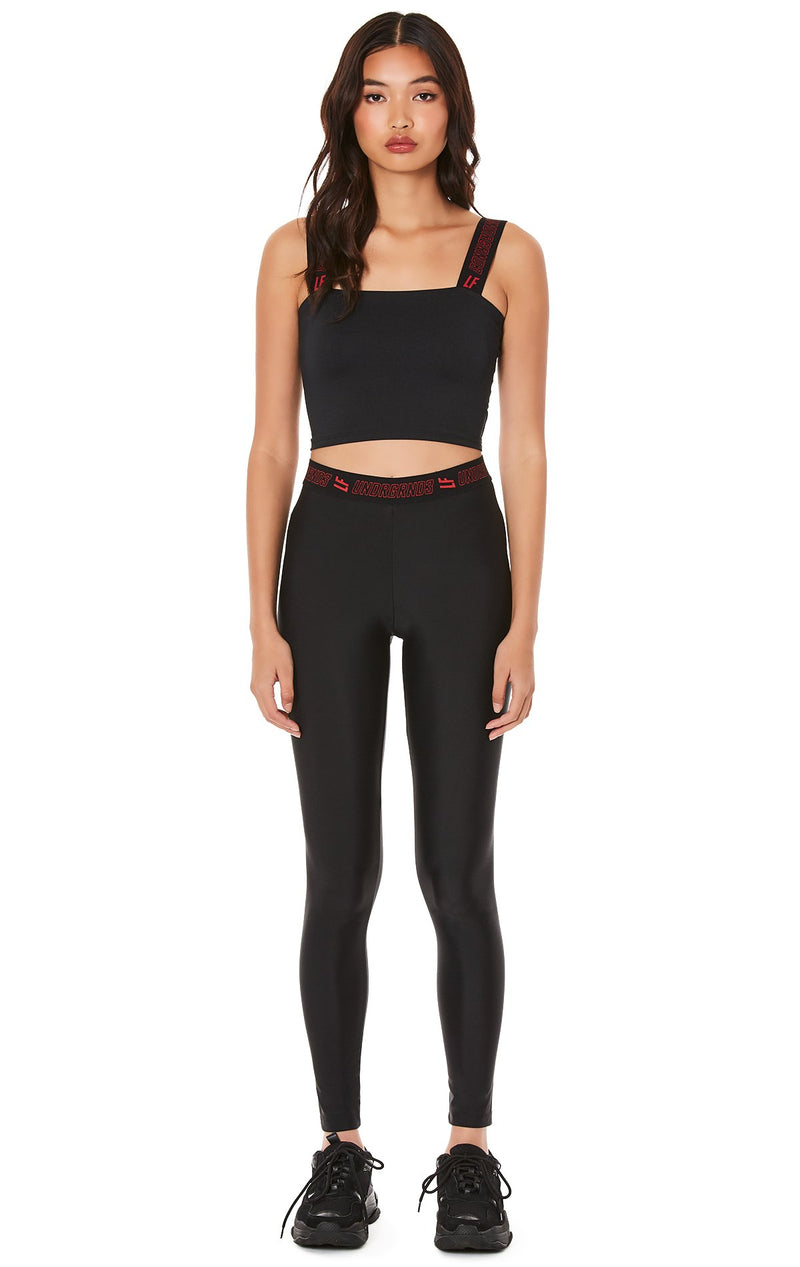 LEGGING WITH LF UNDRGRND3 WAISTBAND FULL FRONT