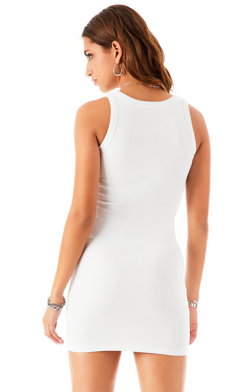 FITTED TANK DRESS