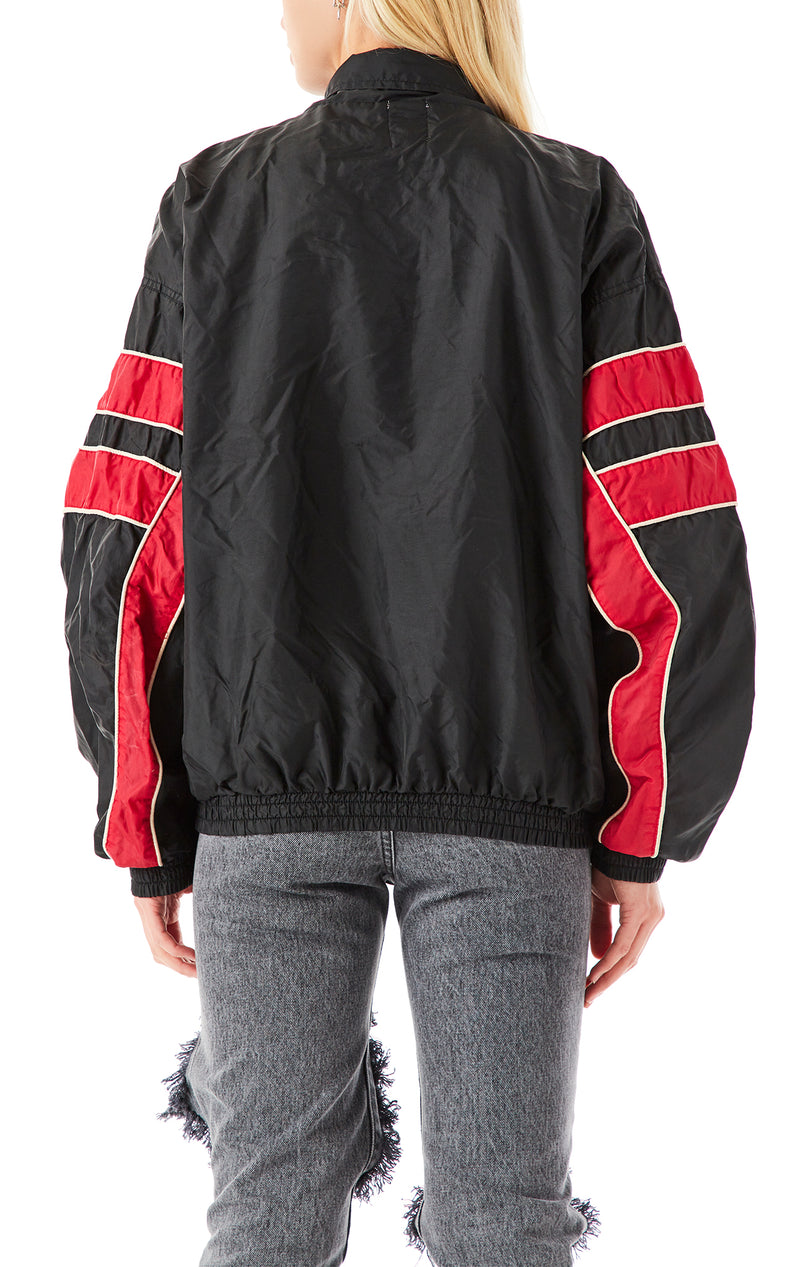 VINTAGE ZIP UP WINDBREAKER JACKET